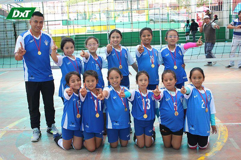 Molivóleibol logra la de oro en la sub-8 del Campeonato Extraordinario