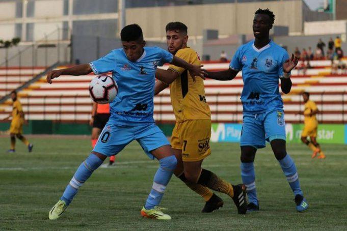 El Binacional derrotó 4 a 0 al Cantolao en Lima.