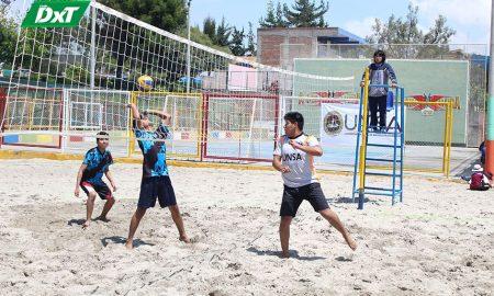 Cuarta fecha de vóley playa se jugó en la UNSA