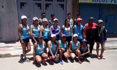 Los deportistas puneños que participarán del Nacional de marcha atlética