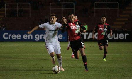 FBC Melgar: Leonardo Mifflin debutó en Copa Libertadores con 19 años