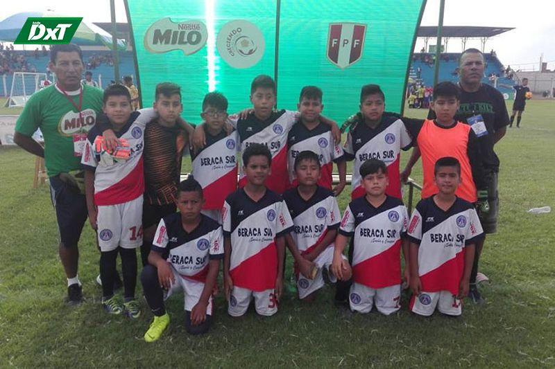 Beraca Sur se despide en 'cuartos' del nacional de Creciendo con el Fútbol