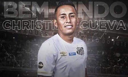Peruano Christian Cueva cierra contrato con el Santos FC de Brasil
