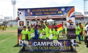 Tacna: Menores alzan la Copa Tacna Heroica en el estadio Jorge Basadre