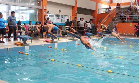 [FOTOS] Asi se realizó festival de natación organizado por el Club Carril 4