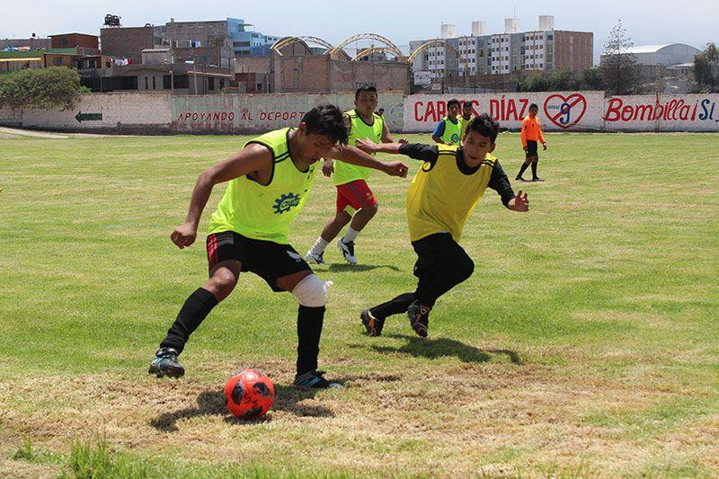 [FOTOS] Cerro Colorado calienta motores para torneo de Primera División