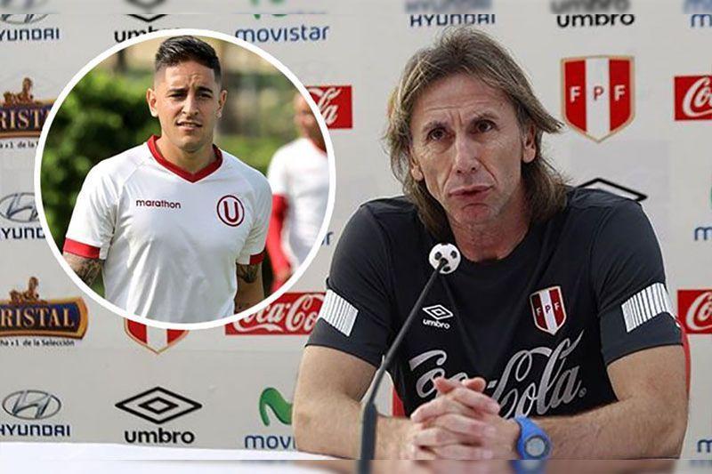 Selección: Ricardo Gareca da duro comentario sobre Alejandro Hohberg