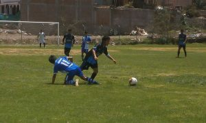 [FOTOS] Liga de Socabaya, primera en iniciar torneo de Primera División