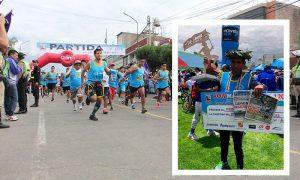 Conoce a los ganadores de la Maratón Virgen de la Candelaria en Cayma