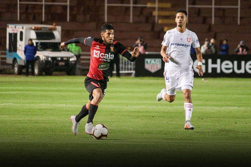 Libertadores 2019: Arias y su deseo de anotar otro gol a la 'U' de Chile
