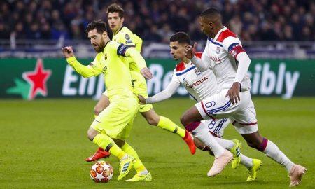 ¡Se define en el Camp Nou! Barza iguala con Lyon en la ida de octavos