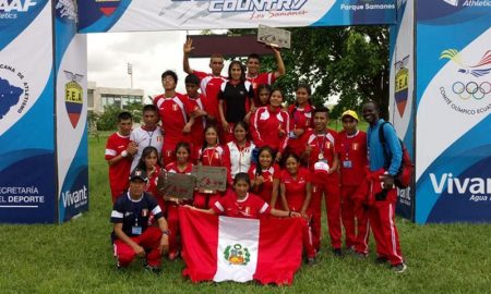 Perú se consagra campeón del Sudamericano de Cross Country en Ecuador
