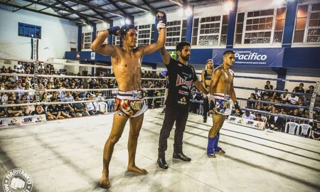 Piero Pineda de 16 años representará al Perú en mundial de Muay Thai