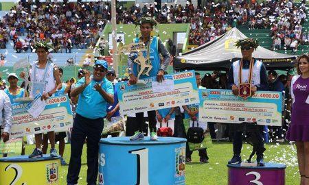 Puneños logran los primeros lugares de la maratón Virgen de la Candelaria
