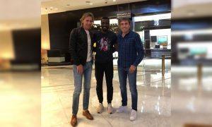 Selección peruana: Gareca visita a Christian Ramos en Arabia Saudí