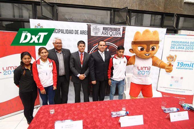 Deportistas de Arequipa participarán en los juegos