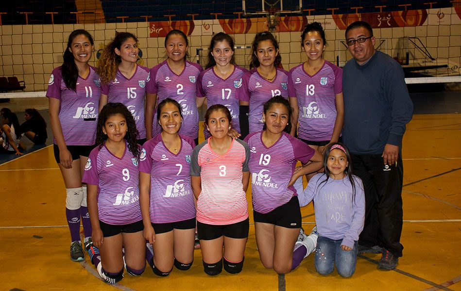 Mistianas jugarán en Lima el interregional de vóley.