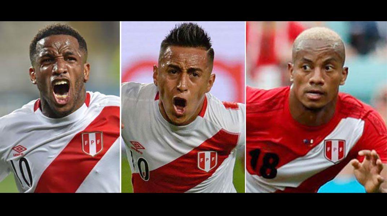 Farfán, Cueva y Carrillo serán la ofensiva en amistoso ante Paraguay