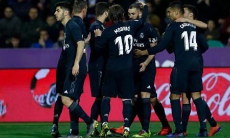 Real Madrid goleó a Valladolid por 4 tantos a 1