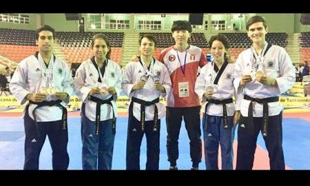 Selección de taekwondo logra medallas en República Dominicana