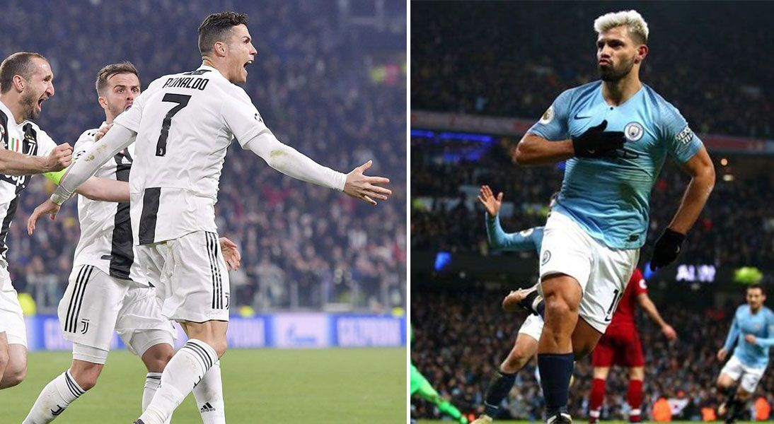 Champions League: Juventus y Manchester City pasan a cuartos de final