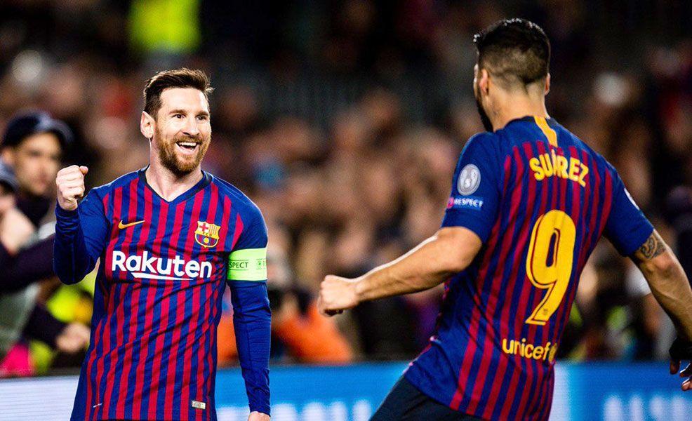 Barcelona se clasifica a cuartos de final con 5-1 frente a Lyon