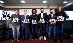 Jugador del Real Madrid presenta su libro 'Método 12'