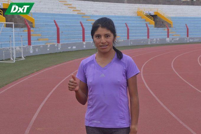 Danú Maribel Flores, PROCEDENCIA: Huatasani - Huancané CATEGORÍA: Juvenil CORRERÁ: 6 Kilómetros.
