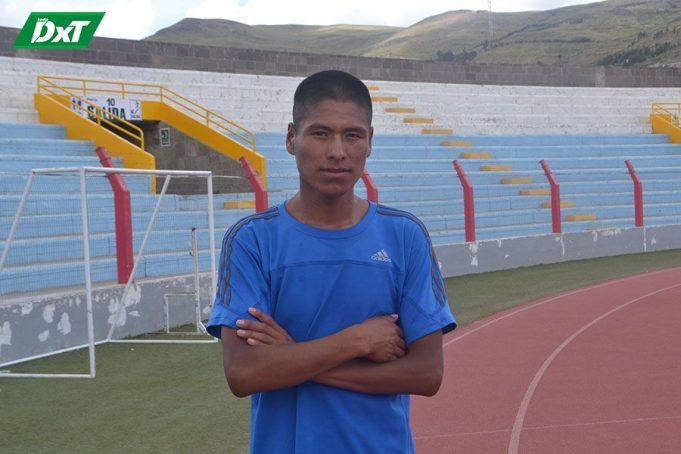 David Chipana Adco, PROCEDENCIA: Samán – Azángaro CATEGORÍA: Juvenil CORRERÁ: 8 Kilómetros .