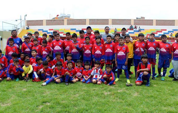 Real Atlético Hunter es una de las escuelas más numerosas de Hunter.