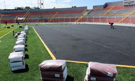 Arequipa: Continúan los trabajos en la pista atlética del estadio Melgar