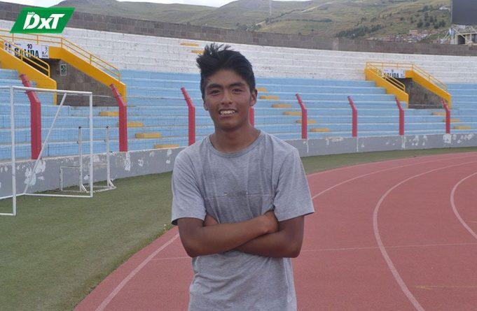 Julio Palomino, PROCEDENCIA: Macusani – Carabaya CATEGORÍA: Juvenil CORRERÁ: 8 Kilómetros.