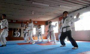 Coreano campeón internacional en taekwondo dictó seminario de actualización