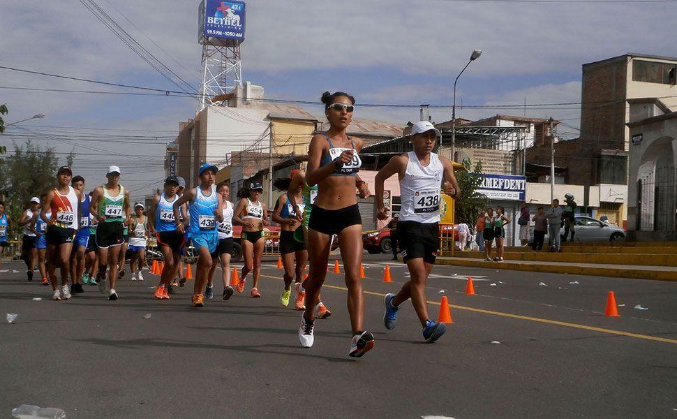 Atletas del CAR de Arequipa ganaron en Campeonato Nacional de Marcha desarrollado ayer en el distrito Miraflores