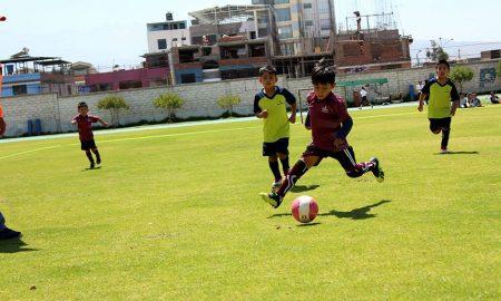 Panorama de los campeonatos oficiales del fútbol de menores en el departamento de Arequipa