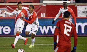 Perú se supo imponer y gana su primer amistoso