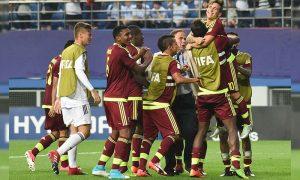 Venezuela venció por 3 goles a 1 a la selección de Argentina en partido amistoso