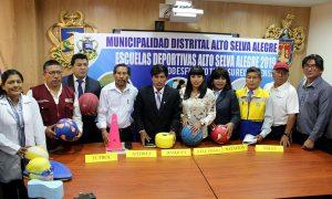 Arequipa: Escuelas deportivas en Alto Selva Alegre