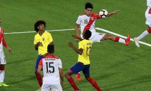 Selección peruana clasificó en primer lugar de su grupo tras vencer a Ecuador.