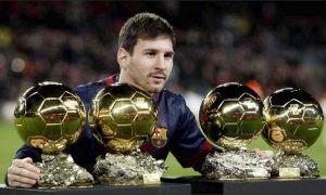 Messi reclama el trono en el fútbol mundial