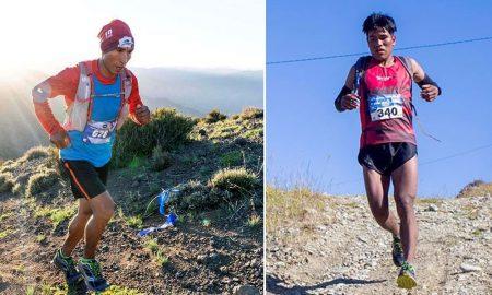Deportistas arequipeños Miguel Huaycho y José Quispe.
