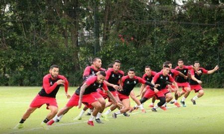 Los rojinegros trabajarán en la AFA pensando en sacar un resultado positivo ante San Lorenzo.