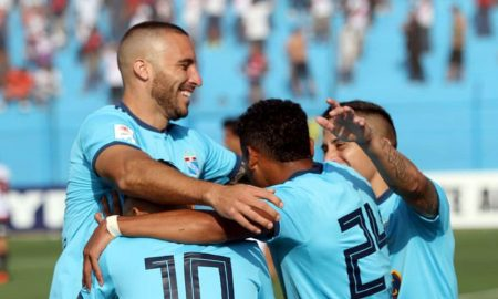 Buena campaña hace el cuadro celeste, que no deja la punta del torneo Apertura.