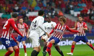 Buen partido jugó el Atlético Madrid contra Valencia.