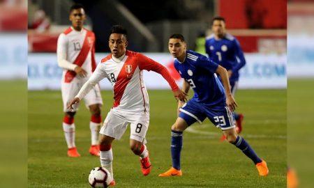 Selección peruana de fútbol se prepara para la Copa América de Brasil.