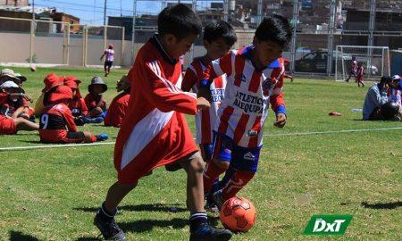 Se jugó torneo relámpago 'Creciendo con el fútbol'