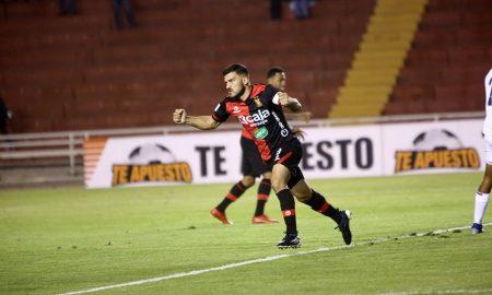 Bernardo Cuesta ha marcado 6 tantos esta temporada. 5 los anotó en la Liga 1 y el restante en la Copa.