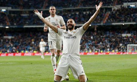 Karin Benzema le dio la victoria al cuadro dirigido por Zinedine Zidane. Marchan en el tercer lugar.