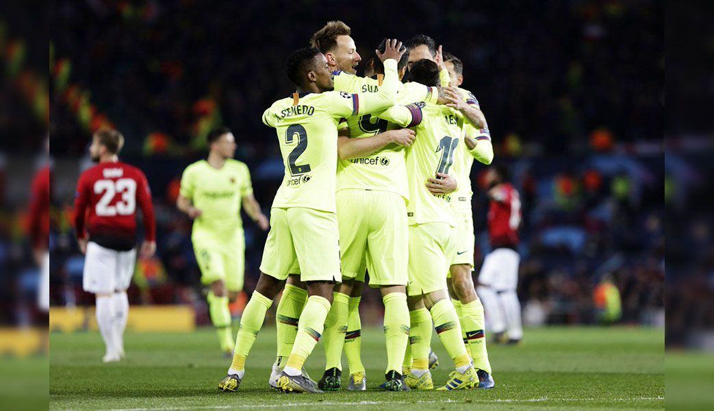 Champions League: Barcelona gana 1-0 a Manchester United