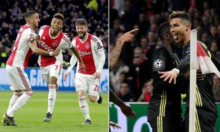 Ajax y Juventus terminan empatados en partido de ida de cuartos de final